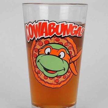 Teenage Mutant Ninja Turtles Pint Glass- Black One