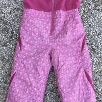 Columbia Toddler Girls Size 3T Pink Snow Bibs Ski Winter Overall Snow Pants