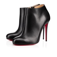 BELLISSIMA CALF CHARME, BLACK, Calf, Women Shoes, Louboutin.