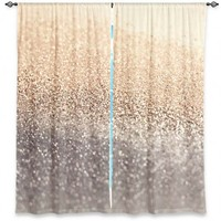 Monika Strigel'sGatsby Gold I | Designer Unique Window Curtains