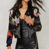 Bead the Lions Bomber Jacket