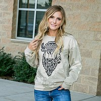 Hippie Buffalo Sweatshirt