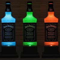 Jack Daniels Color Changing LED Remote Controlled Eco Friendly RGB LED