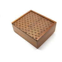 Flower Of Life - Wooden Jewellery Box