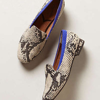 Anthropologie - Python Pop Loafers