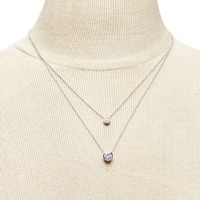 Ring Pendant Layer Necklace