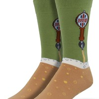 Beer Tap Men's Crew Socks - LAST PAIR!