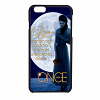 Once Upon A Time Belle  Full Moon iPhone 6 Case