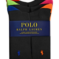 Polo Ralph Lauren Multicolor Crew Sock Set