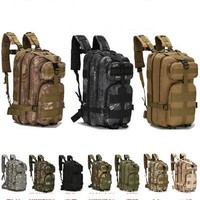 New product Unisex Fishing Bag Waterproof Oxford mountaineering package outdoor 3Dsports backpack military fans tactical package