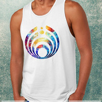 Bassnectar Logo On Galaxy Clothing Tank Top For Mens