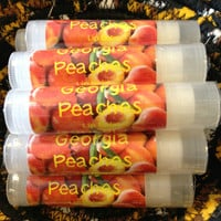 GEORGIA PEACHES Lip Balm  .15 Ounce Tube