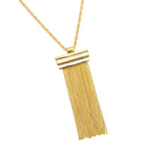 * GOLD CHAIN NECKLACE