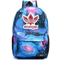 Boys Backpack Bag Stranger Things noctilucous  student school bag Rucksack Men's women School Bags Pink Black Blue AT_61_4