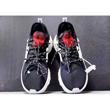 NIKE Presto React Fashion New Hook Women Men Sports Running Shoes Black