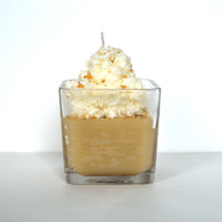 Almond Rum Cake Gourmet Jar Candle - Scented Candle