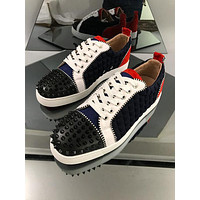 Christian Louboutin CL Fashion Men Women's Casual Running Sport Shoes Sneakers Slipper Sandals High Heels Shoes
