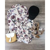 Final Sale - MINKPINK - Toulouse Printed Playsuit Romper