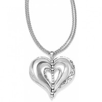 Brighton Kinetic Heart Convertible Necklace
