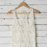 Brynlee Lace Tank