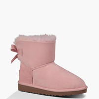 Ugg Mini Bailey Bow Girls Boots English Primrose  In Sizes