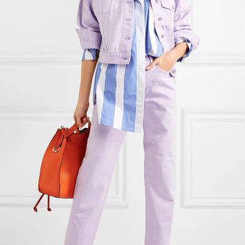 Pushbutton - Mid-rise straight-leg jeans
