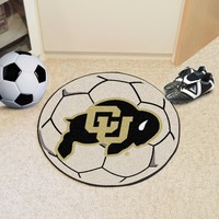 University of Colorado Soccer Ball Mat