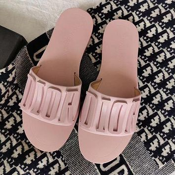 Christian Dior CD Slippers For Women Shoes