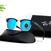 Ray Ban 2019 new tempered glass lens color film polarized sunglasses #6