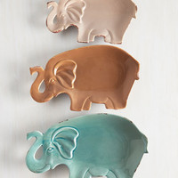 ModCloth Safari Pachyderm Party Plate Set