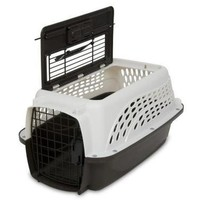 Petmate Two Door Top Load Pet Kennel Carrier White 19""