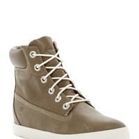 Timberland | Flannery 6' Leather Wedge Sneaker