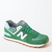 New Balance Picnic 574 Collection Running Sneakers - Womens Shoes - Green