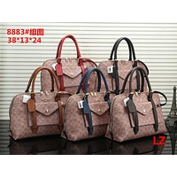 Coach Shopping Bag Leather Tote Handbag