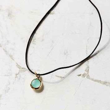 Nel Short Tag Necklace
