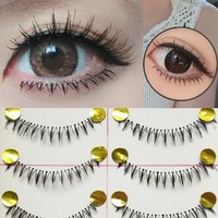 Lower Bottom Handmade Natural False Eyelashes