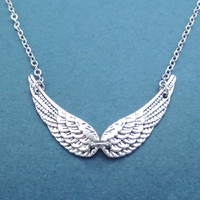Angel, Wings, Silver, Necklace, Guardian, Angel, Wing, Necklace, Friendship, Birthday, Best friend, Gift, Accessory, Jewelry