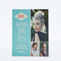 100 Awesome Hair Days Book - Urban Outfitters