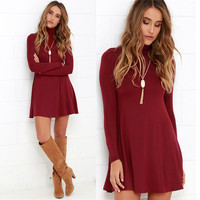 New Fashion Summer Sexy Women Mini Dress Casual Dress for Party and Date = 4661815364
