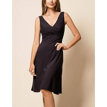 Bamboo Two-Way Black Dress - XL Only - As-Is-Clearance