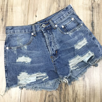 Victoria Denim Shorts