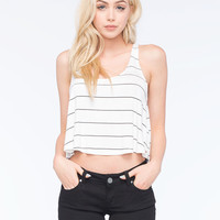 Rip Curl Borderline Womens Tank White  In Sizes