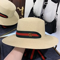 GUCCI New fashion stripe fisherman hat cap