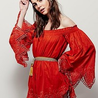 Free People Think Warm Thoughts Romper