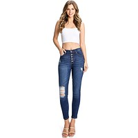 Midnight Ankle Skinny Jeans