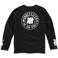 Undefeated BS L/S T-Shirt - Men's at CCS