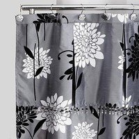 Popular Bath Products Erica shower curtain