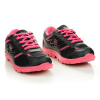897 Women's Round Toe Dual Fabric Lace Up Athletic Fashion Sneakers