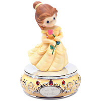 Disney ''Once Upon a Time'' Musical Belle Figurine by Precious Moments | Disney Store