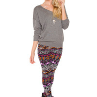 Ursula Leggings - Purple